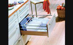 Blocs-tiroirs à divisions flexibles - Rangement pour armoires de cuisine | Accessoires de cuisine