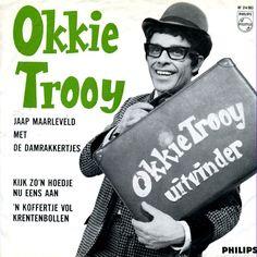 Okkie Trooy; kinder-TV-serie; ik heb nog nooit zòveel krentenbollen bij elkaar gezien....