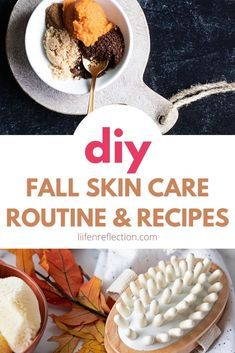 Bring on your favorite fall scents and flavors into a natural skin care routine you'll love with these 10 DIY skin care recipes!