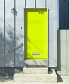 yellow door, <3!