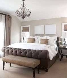 I love anything tufted !  And neutral...