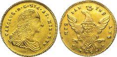 NumisBids: Numismatica Varesi s.a.s. Auction 65, Lot 521 : PALERMO - CARLO DI BORBONE (1734-1759) Doppia Oncia d'oro 1753. ...