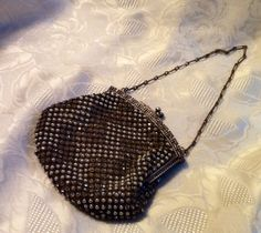 Vintage RARE beaded purse Made in France by RESTYLE576 on Etsy, $195.00