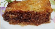 Υλικά 1 λίτρο ρόφημα αμυγδάλου με σοκολάτα 6 κουταλιές σιμιγδάλι ψιλό ξύσμα από 1 μεγάλο πορτοκάλι 1/2 κουπα ζάχαρη 4 βανίλιες 1 κουβερτο... Lasagna, Pork, Beef, Cooking, Cake, Ethnic Recipes, Desserts, Greece, Kale Stir Fry