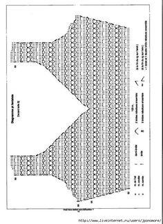 Crochet clothes 290341507227847379 - Robes au crochet 25 / 2 – crochet d'amour Source by Débardeurs Au Crochet, Crochet Diagram, Crochet Woman, Crochet Chart, Irish Crochet, Crochet Stitches, Crochet Patterns, Hand Crochet, Crochet Bikini Top
