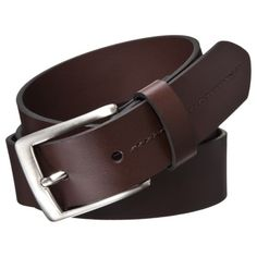 Brown Skinny Belt