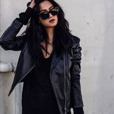 Diesel leather jacket The constrast of smooth washed-leather and stitched strips creates a beautiful texture clash on this leather biker jacket. Worn once for this photo.  100% buffalo Hide leather  Washed-leather Two pockets, Diesel Jackets & Coats