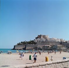 peniscola, spain. I want to be in my bikini lying on that beach right now.