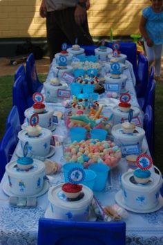 Smurfs Birthday Party On Pinterest Birthday Party