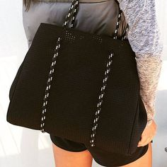Prene Bags - Perforated Neoprene Bag - The ultimate beach, shopping, nappy, travel...anything bag.