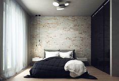 Quartos minimalistas por Projecto2