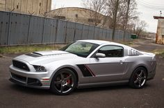 2013 Roush Ford Mustang. You don't want to mess with a Roush Mustang.
