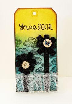 #DIY gift tag