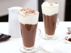 Make Ice Cream, Homemade Ice Cream, Fall Recipes, Real Food Recipes, Hot Chocolate, Nutella, Brunch, Food And Drink, Pudding