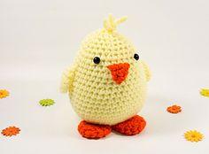 spring chick amigurumi free pattern