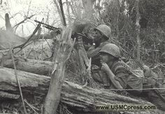 September 23, 1966     Battle for Mutter's Ridge: In the morning lead elements of the 3rd Battalion, 4th Marines approach Hill 400 just behind the withdrawing NVA. However, when Company K pushes forward to Hill 400, NVA troops in heavily reinforced bunkers counterattack, assisted by spotters in the trees who direct fire. Still, at a cost of six Marines and fifty enemy, the Americans control Hill 400 by afternoon. However, resistance is stronger on Hill 484, and the enemy retains control ther