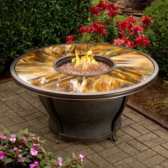 Oakland Living Moonlight Gas Fire Pit Table