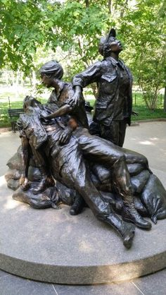 WASHINGTON DC .... Memorial honoring the 11,000 women,mostly nurses who served in Vietnam,of which 9 were killed.Original photo by Steve .... Saved by the Grace of God,as written in Ephesians 2 verses 8 and 9