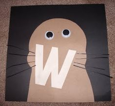 letter w crafts for preschool - Google Search