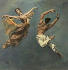 Original People Painting by Ellen Fasthuber-huemer Oil On Canvas, Saatchi Art, Original Paintings, Illustration, Artist, Dance, Pictures, Artists, Illustrations