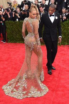 Gala #MET2015 - Beyoncé y Jay Z