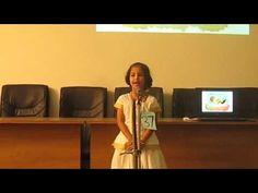 Keraleeyam - Sandy Singing Poem at Devamatha Kindergarten