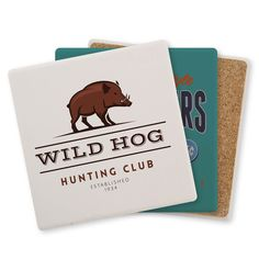 Absorbent Coasters with Cork Backing a long lasting Promotional Product. Portion Plate, Large Dog Bowls, Magnetic Photo Frames, Hog Hunting, Color Pad, Porous Materials, Custom Napkins, Stainless Steel Straws, Ceramic Coasters