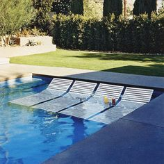 Pool Chairs - Make Your Backyard Feel Like A Resort - Photos