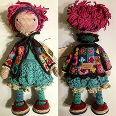 You can find the best amigurumi doll patterns and free recipes on our website. Crochet Amigurumi, Crochet Doll Pattern, Amigurumi Doll, Amigurumi Patterns, Doll Patterns, Knitting Patterns, Crochet Patterns, Amigurumi Tutorial, Knitted Dolls