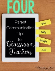 Parent Communication tips for teachers, plus a FREEBIE to keep track of it all!
