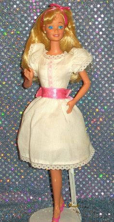 Barbie - My First Barbie, 1984 (I remember my bully friend wrecking the Barbie of another friend, it was this doll ;P )