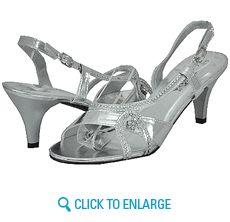 91c6b0518507 All New Lady Godiva Dassy-2 Silver Women Dress Sandals Lady Godiva