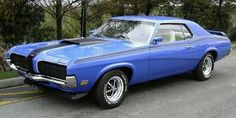 1970 Cougar with GT trim