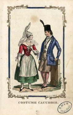 Costume cauchois -Marcilly Ainé (Paris)-18..