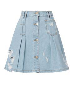 06184dc4e7 PUBLIC SCHOOL PENNY DENIM MINI SKIRT DENIM. #publicschool #cloth # School  Fashion,