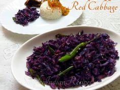 Spicy Red Cabbage Stir Fry