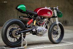 RocketGarage Cafe Racer: F3 by Radical Ducati