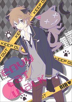 Neko anime boy
