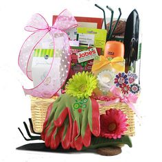 Mothers Day Gardening Gift Baskets