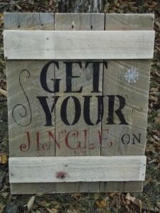 Get you jingle on. You Got This, Upcycle, Homemade, Signs, Home Decor, Homemade Home Decor, Upcycling, Upcycled Crafts, Shop Signs