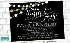 Hey, I found this really awesome Etsy listing at https://www.etsy.com/listing/224423175/adult-birthday-invitation-surprise