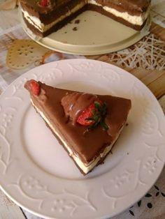 H μάνα του ... λόχου: Cheesecake τριπλής σοκολάτας