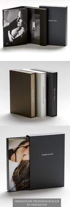 AsukaBook USB Presentation Book. A beautiful way to present USB's. Even comes…