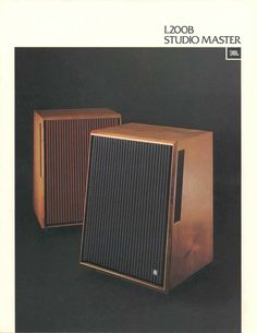 JBL-L200B Studio Master Speakers, 1975