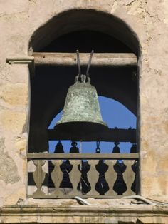 Carmel Mission Bell, Carmel, California, USA Photographic Print by Rob Tilley at Art.com