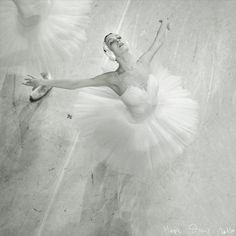 vintage aerial Ballet Photo