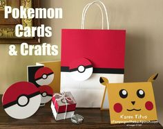 Easy Punch Art Pokeman Cards for all your Pokemon playing friends. Treat ideas too. More information can be found here http://karentitus.com/how-to-make-quick-easy-pokemon-cards-crafts/