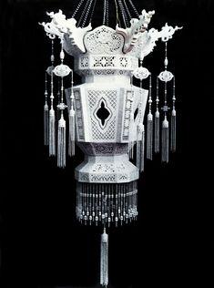 玩物誌|世存仅三件的瓷雕小宫灯:白如雪、明如镜、声如罄_腾讯家居