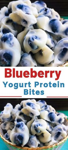 Blueberry Yogurt Protein Bites Blueberry Yogurt Protein Bites Fresh blueberries make an awesome frozen snack especially dipped in Greek yogurt. Blueberries are one of the healthiest foods you can eat- they are loaded with vitamins, antioxidants and fiber… Homemade Frozen Yogurt, Healthy Frozen Yogurt, Frozen Yogurt Bites, Frozen Greek Yogurt, Frozen Yogurt Recipes, Frozen Yogurt Blueberries, Healthy Protein Snacks, Protein Bites, Healthy Drinks