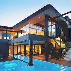 Image via We Heart It https://weheartit.com/entry/160376564/via/16003253 #lifestyle #luxury #pool #summer #vacation #villa